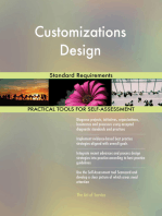 Customizations Design Standard Requirements