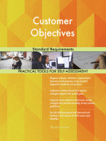 Customer Objectives Standard Requirements