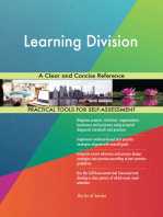 Learning Division A Clear and Concise Reference