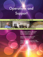 Operations and Support Complete Self-Assessment Guide