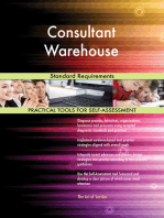 Consultant Warehouse Standard Requirements