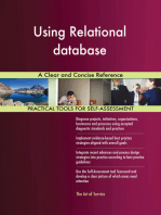 Using Relational database A Clear and Concise Reference