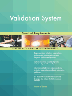 Validation System Standard Requirements
