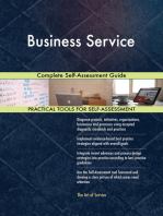 Business Service Complete Self-Assessment Guide
