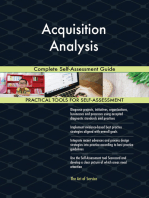 Acquisition Analysis Complete Self-Assessment Guide