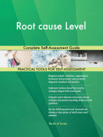 Root cause Level Complete Self-Assessment Guide