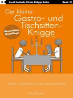 Der kleine Gastro- und Tischsitten-Knigge 2100