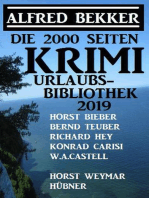 Die 2000 Seiten Krimi Urlaubs-Bibliothek 2019
