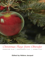 Christmas Plays by Oberufer:
