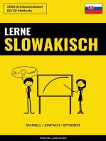 Lerne Slowakisch