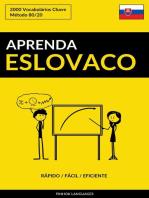 Aprenda Eslovaco