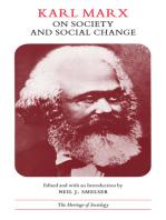 Karl Marx on Society and Social Change