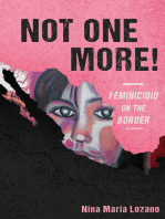 Not One More! Feminicidio on the Border