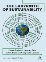 The Labyrinth of Sustainability: Green Business Lessons from Latin American Corporate Leaders
