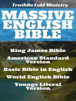 Massive English Bible