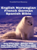 English Norwegian French German Spanish Bible