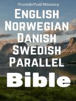 English Norwegian Danish Swedish Parallel Bible