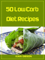 50 Low Carb Diet Recipes