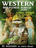 Wildwest Bibliothek Februar 2019 – 15 Western in einem Band
