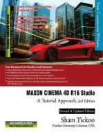 MAXON CINEMA 4D R16 Studio: A Tutorial Approach, 3rd Edition