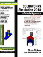 SOLIDWORKS Simulation 2018: A Tutorial Approach