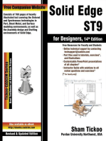 Solid Edge ST9 for Designers, 14th Edition