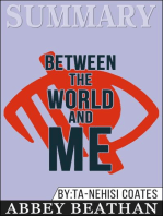 Summary of Between the World and Me by Ta-Nehisi Coates