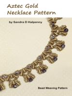 Aztec Gold Necklace Pattern