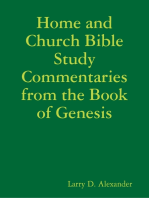 Home and Church Bible Study Commentaries from the Book of Genesis