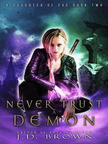 Never Trust a Demon: A Daughter of Eve, #2