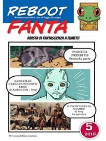 RebootFanta 5: Fanzina di fantascienza a fumetti
