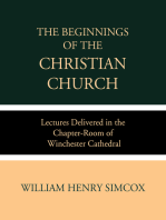 The Beginnings of the Christian Church