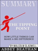 Summary of The Tipping Point