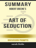 Summary of Art of Seduction by Robert Greene (Discussion Prompts)