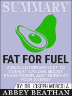 Summary of Fat for Fuel