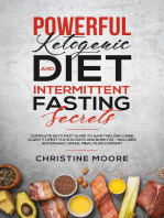 Powerful Ketogenic Diet and Intermittent Fasting Secrets