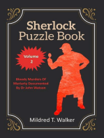 Sherlock Puzzle Book (Volume 2) - Bloody Murders Of Moriarty Documented By Dr John Watson