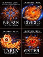 Fated Fantasy Quest Adventure Books 4-7 (Broken, Divided, Taken, Control)