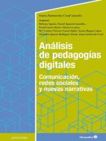 Análisis de pedagogías digitales: Comunicación, redes sociales y nuevas narrativas