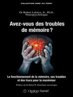 Avez-vous des troubles de mémoire ?