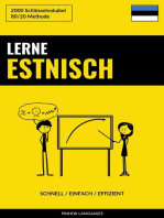 Lerne Estnisch