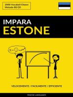 Impara l'Estone