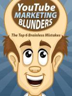 YouTube Marketing Blunders