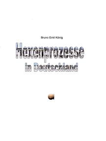 Hexenprozesse in Deutschland