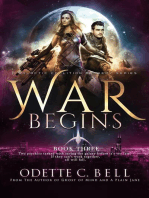 War Begins Book Three