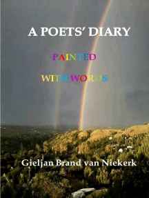 A Poets' Diary: Painted with words