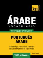 Vocabulário Português Brasileiro-Árabe: 7000 Palavras
