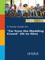 """A Study Guide (New Edition) for """"Far from the Madding Crowd"""" (lit-to-film)"""""""