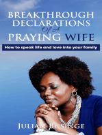 Breakthrough Declarations Of A Praying Wife