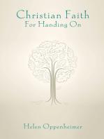 Christian Faith for Handing On